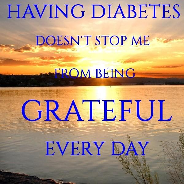 Having Diabetes Doesn't Stop Me