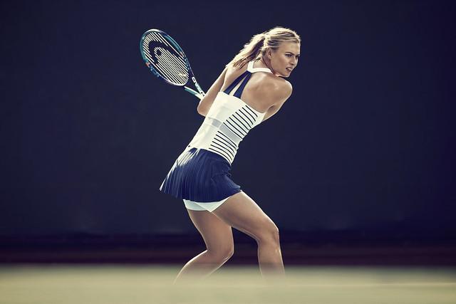 Maria Sharapova Roland Garros outfit