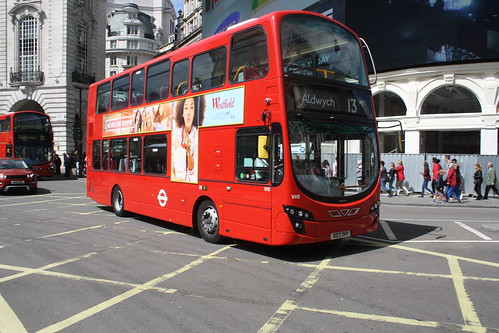 London Sovereign VH5 BT13OHY Volvo B5LH / Wright