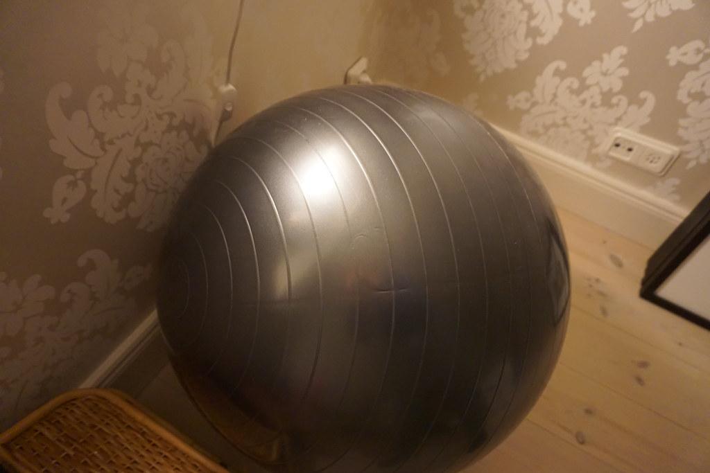 Hemmagym pilatesboll