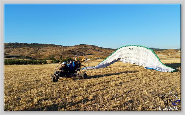 Volar en paratrike en Rioja Baja (2)