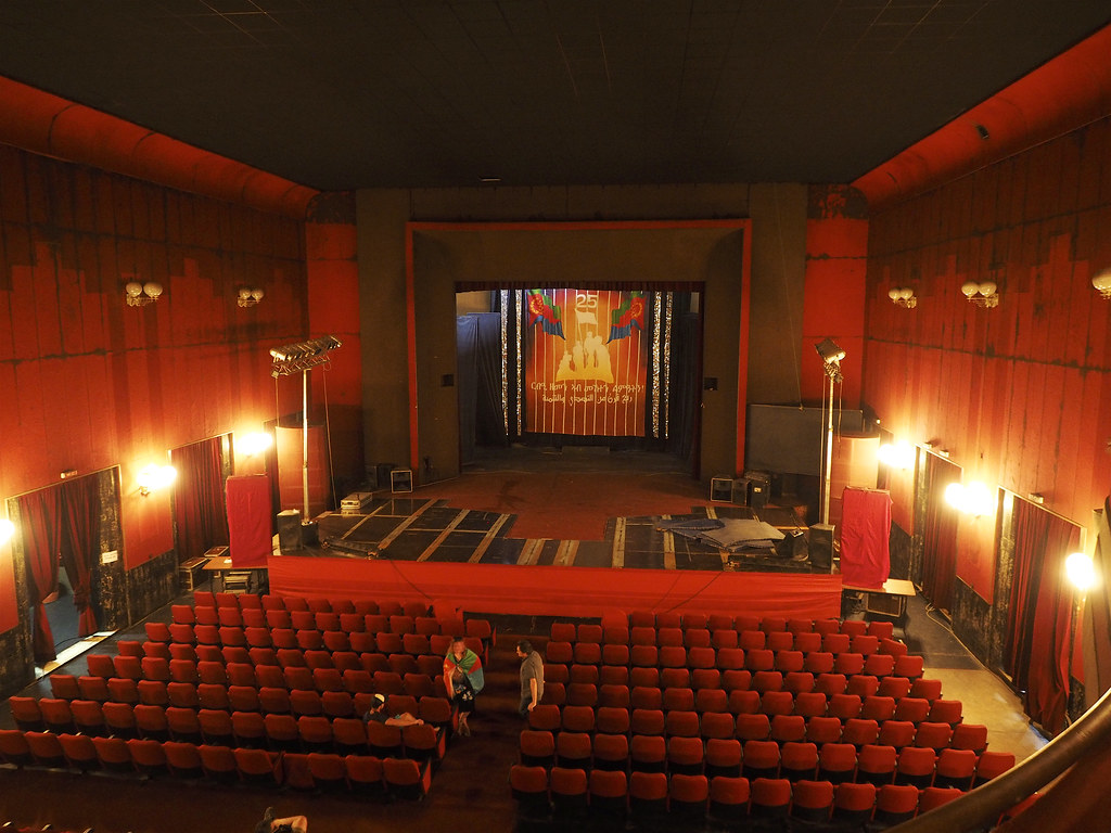 Cinema Roma Asmara Eritrea The Cinema Roma Was Built