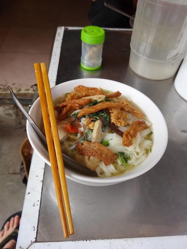 bowl of vegetarian pho