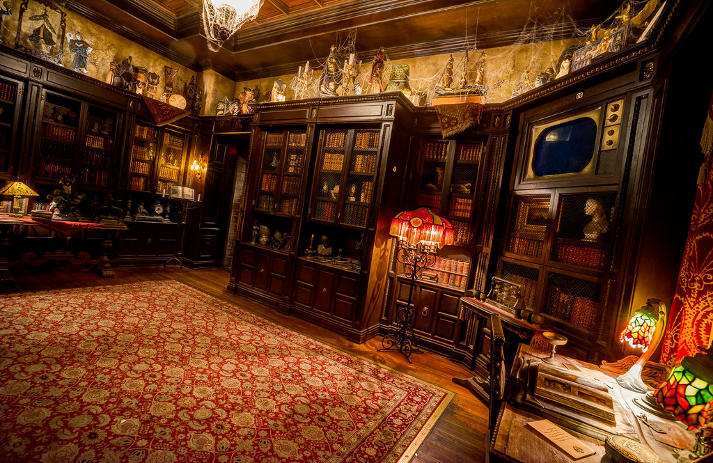 Hollywood Studios Tower Of Terror Library Instagram