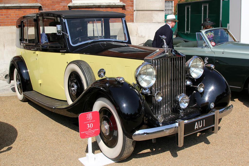 St James S Concourse Of Elegance 2013 1937 Rolls Royce P