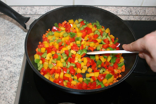 34 - Gemüse anbraten / Braise vegetables