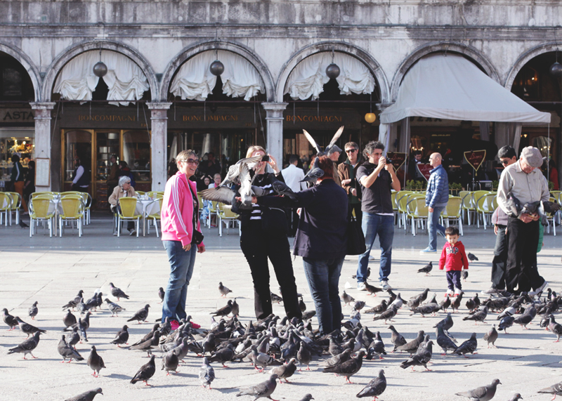 Pigeons in Venice, Bumpkin Betty