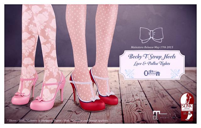 Becky T-Strap Heels