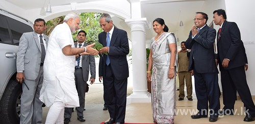 The Northern Province hosts Shri Narendra Modi, Prime Minister of India