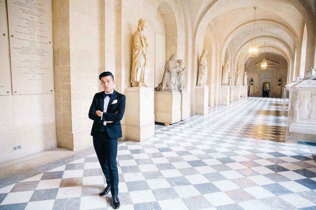 Bryanboy in Versailles for Martell Tricentenaire