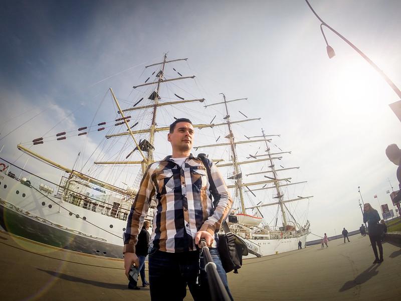 Dar młodzieży w Gdyni - Selfie