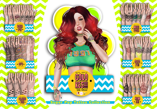 :Moon Amore: Super Pop Tattoo Collection!