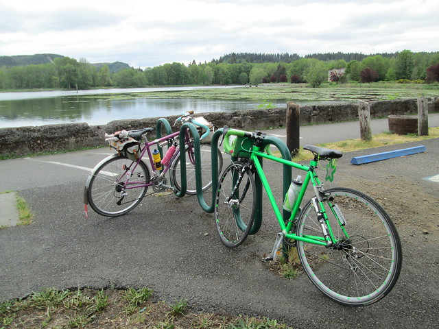 Bikes at Vernonia Lake