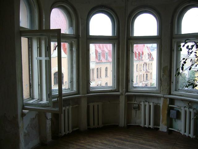 Former KGB building in Riga