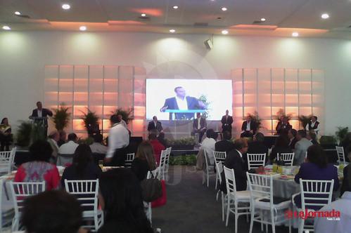 Organismos empresariales realizaron foro con candidatos a la alcaldía de la capital potosina