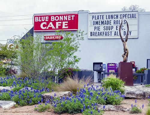 The Blue Bonnet Cafe Marble Falls Texas Explore Greg