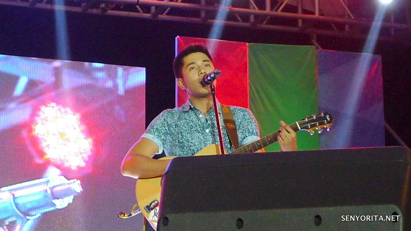 Paulo Avelino Kapamilya Karavan in Dagupan City - Bangus Festival 2015