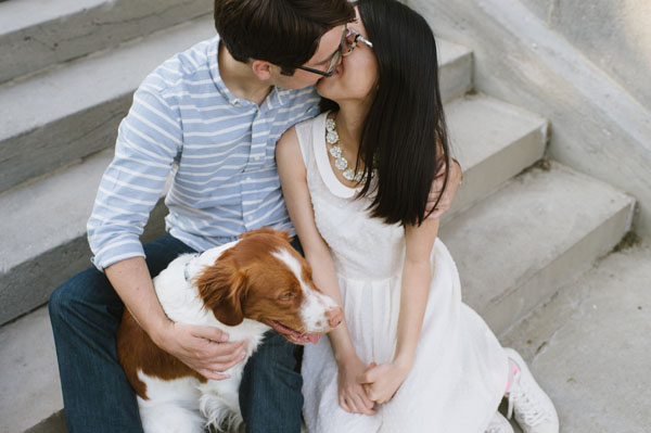 Celine Kim Photography Kew Beaches Toronto engagement session with dog-6