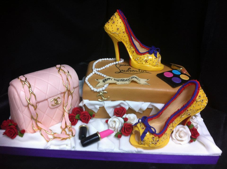Cakeaters Edible Arts : fashionista cake Cakeaters Edible Art Flickr