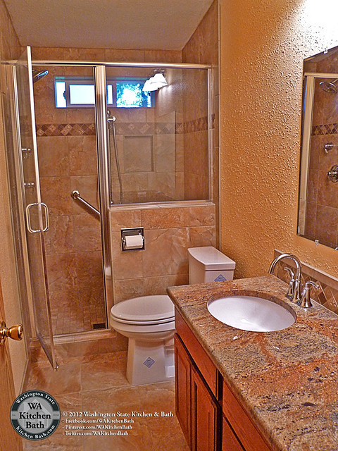 Home Bathroom Remodel Of 800 935 5524 Mobile Home Hall Bathroom Remodel Flickr