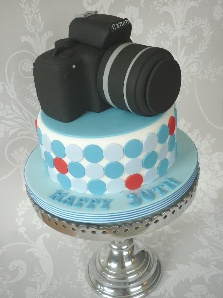 How To Make A Canon Camera Cake