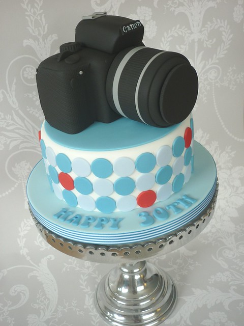 Canon Camera Birthday Cake Flickr - Photo Sharing!