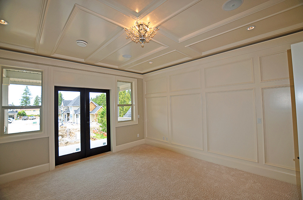 Coffered Ceiling Master Bedroom Design Ideas In A Smaller Flickr
