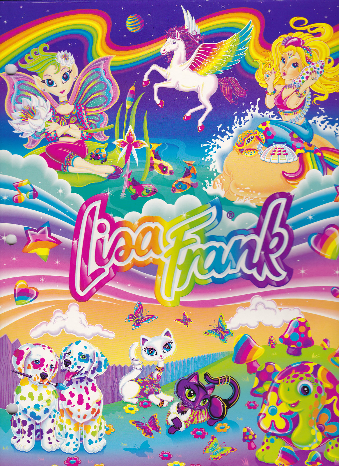 Lisa Frank Collage Lisa Frank Character Collage