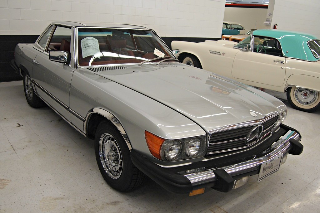 1978 mercedes benz 450sl roadster 2 photographed at for 1978 mercedes benz 450sl