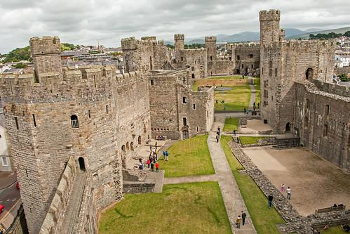 Caernarfon Castle - Interior