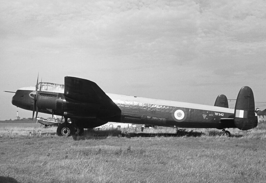 Avro 694 Lincoln B 2 Rf342 G Aprj Historic Aircraft Mus