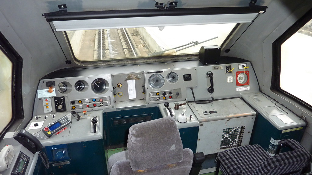 EMT HST - 43083 Cab - London St Pancras | Saturday 05-10