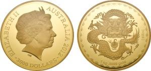 2012 Lucky Dragon master coin