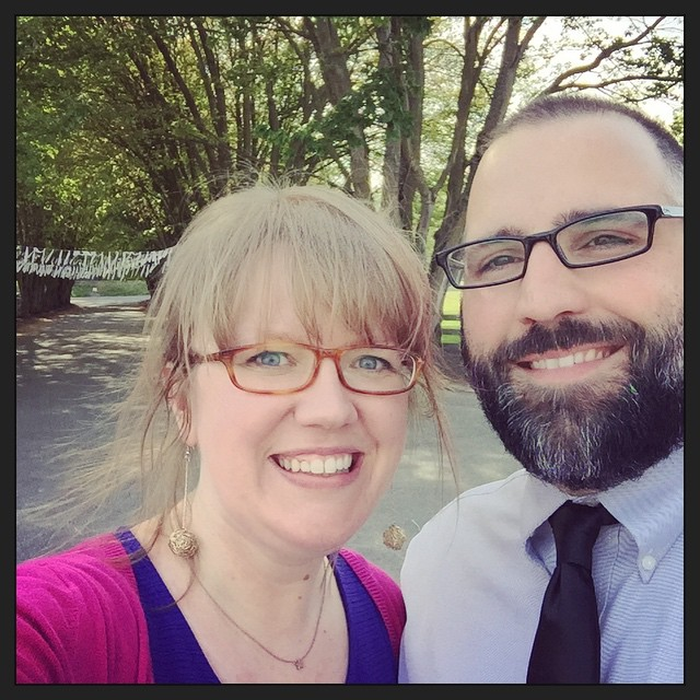 #tbt to one of my most-favorite pictures of us, just a few weeks ago at Carissa's wedding.