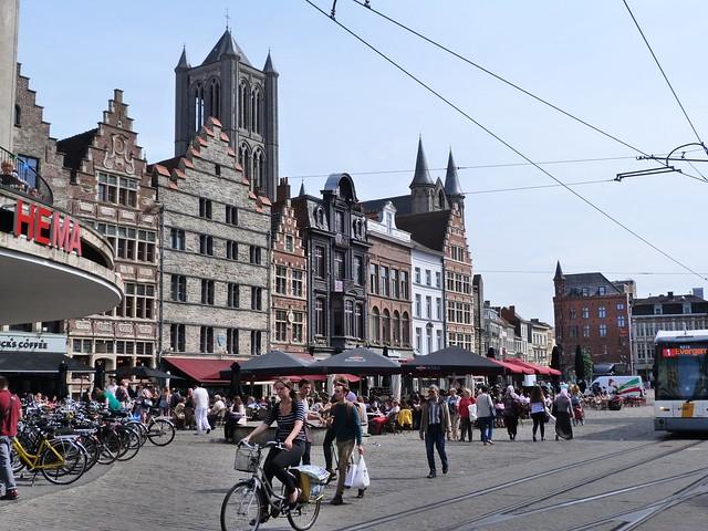 Korenmarkt en Gante