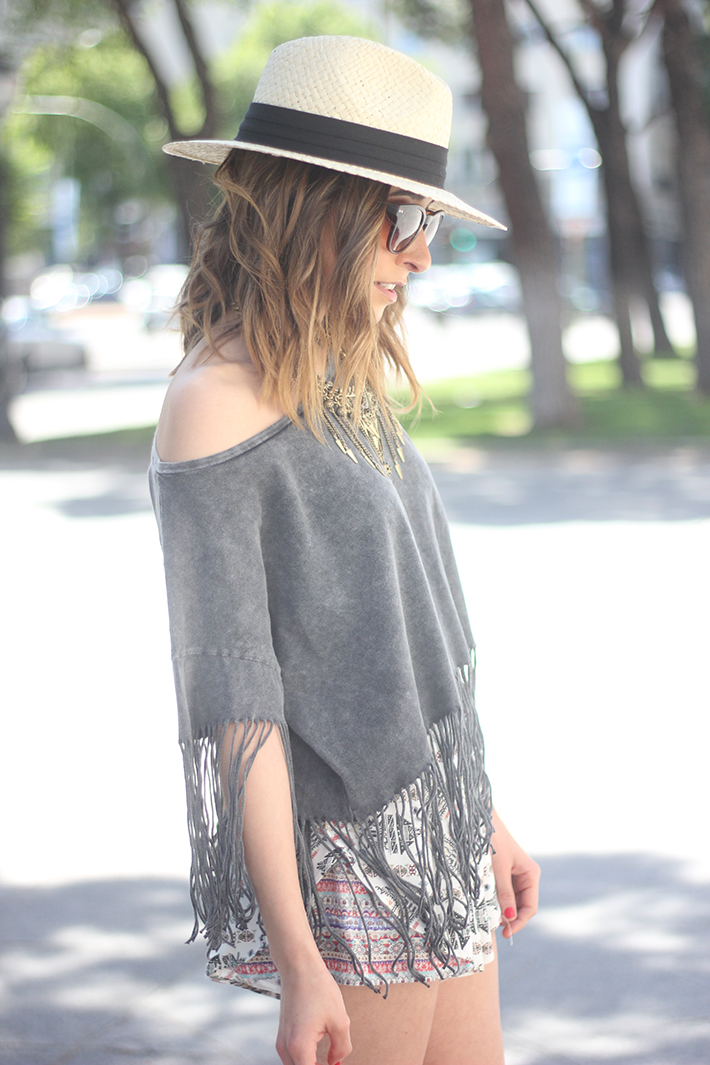 Boho Style Outfit C&A06