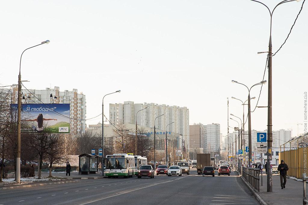 Марьино у метро Братиславская