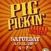 12.04.28 Pig Pickin Poster