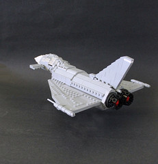 Eurofighter Typhoon by Lego Junkie.