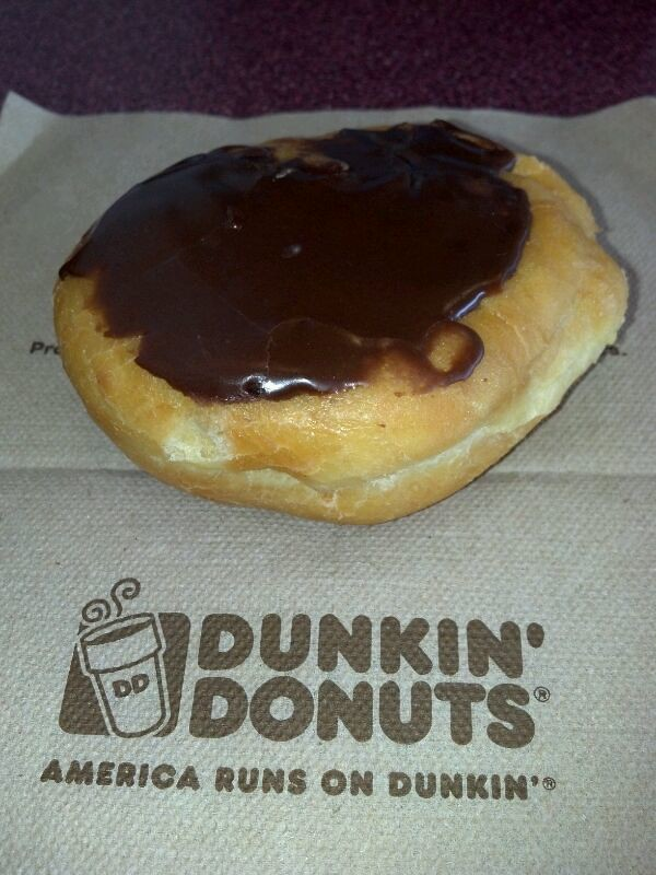 Boston Cream Donut  Dunkin Donuts  Donut Boston Cream