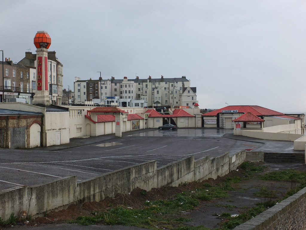Past Glory | The empty shell of the Cliftonville Lido. The ...