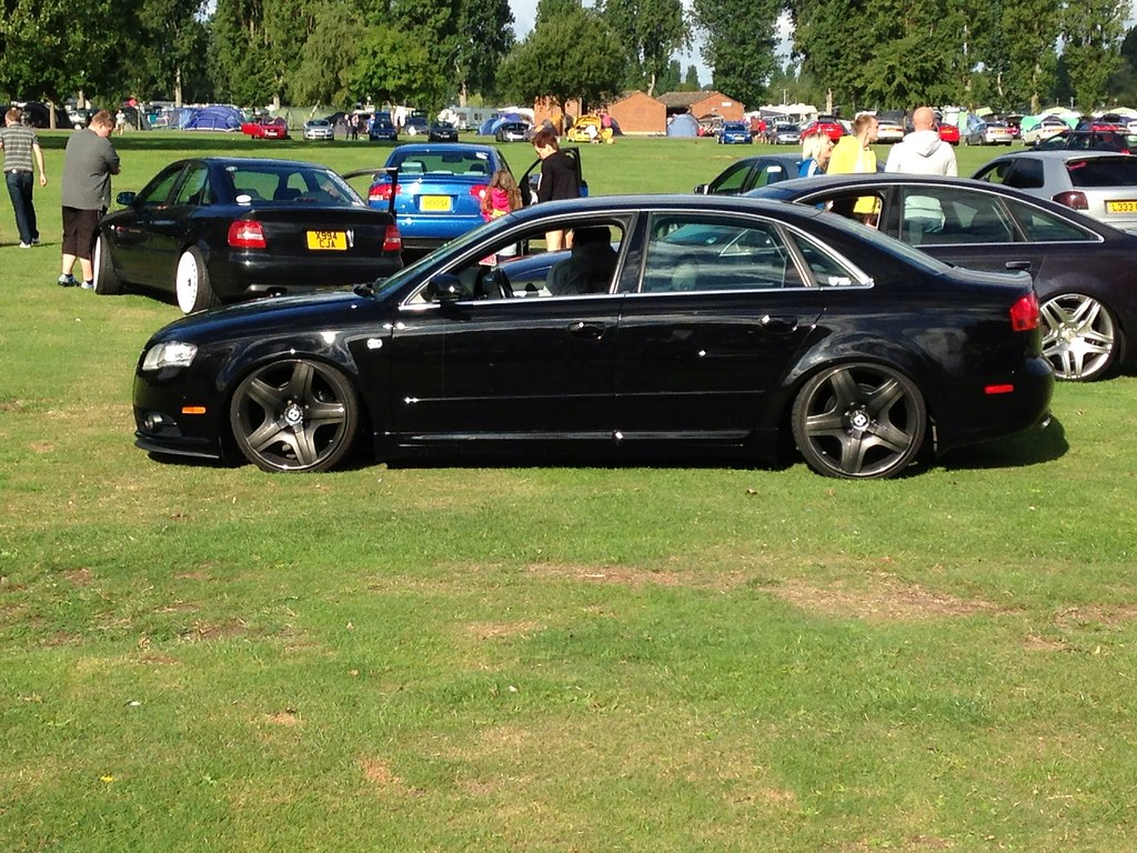 Audi A4 With Bentley Wheels Audis In The Park Pete