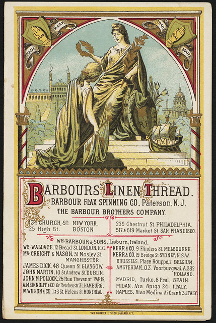 Barbour's linen thread [front]   Flickr - Photo Sharing!