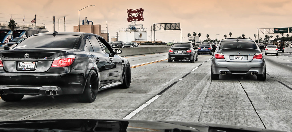 Caravan Of E60 Bmw M5 Owners Bmw M5 Owners On The Way To
