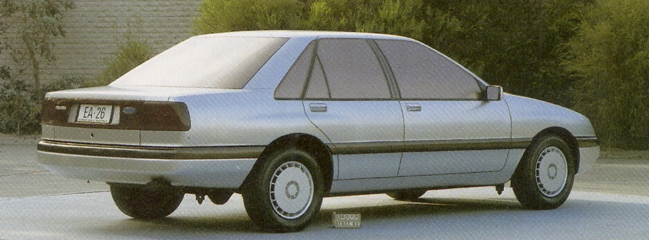1988 ea ford falcon styling clay early six window