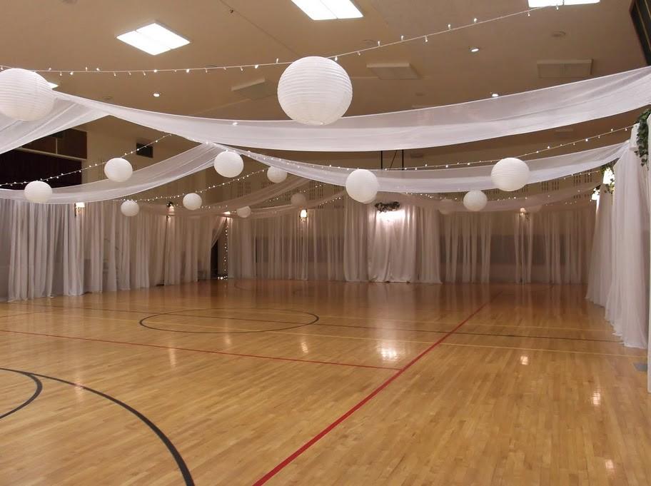 Lds wedding reception ideas cultural hall decorating for Decoration simple de salon