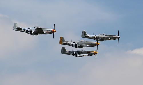 H: P-51 Mustangs
