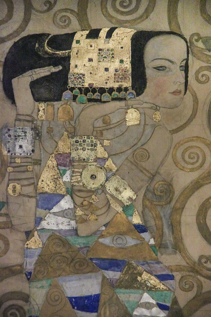 Gustav Klimt, Nine Drawings for the Execution of a Frieze for the Dining Room pf Stociet House in Brussels, 1910-11