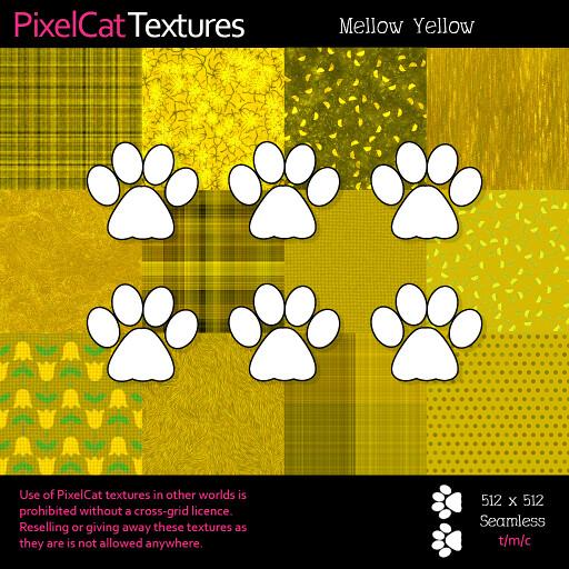 PixelCat Textures - Mellow Yellow