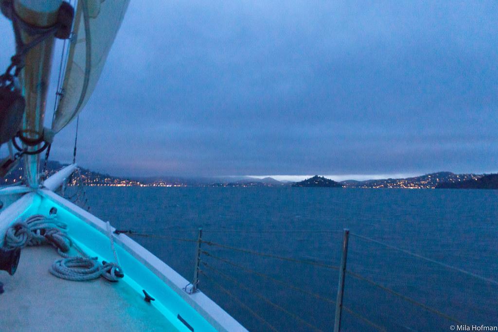 San Francisco Bay View from Freda B